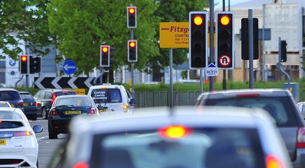 The poll found that 25 per cent of people could not remember whether they stopped at traffic lights