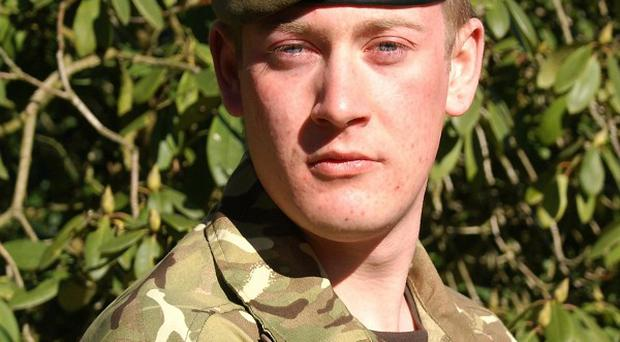 Private Gareth Bellingham of 3rd Battalion The Mercian Regiment (Staffords), who was shot and killed while on patrol in Afghanistan