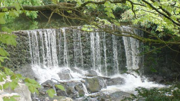 Crumlin glen waterfall