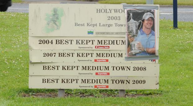 Holywood has been celebrating Rory McIlroy's US Open win
