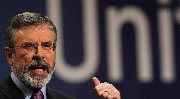 The Taoiseach should draw up a plan for Irish unity as soon as possible, Gerry Adams has said