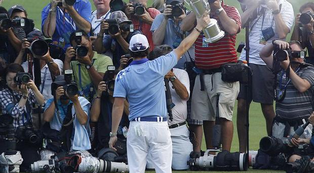 One punter landed a small fortune, believed to be 25,000 pounds, from a bet placed when Rory McIlroy was a promising youngster (AP)