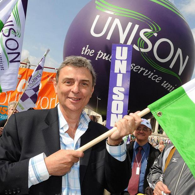 Public sector workers are preparing for the fight of their lives to defend jobs, pensions and services, Unison chief Dave Prentis says