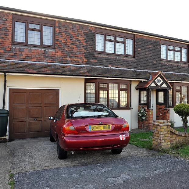 The property in Wickford, Essex, where Ryan Cleary was arrested as part of a Scotland Yard and FBI probe into LulzSec