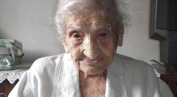 Brazilian Maria Gomes Valentim, the world's oldest woman who has died aged 114(AP)