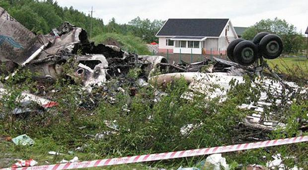 Only eight people survived the crash in north-western Russia (Russian Ministry of Emergency Situations)