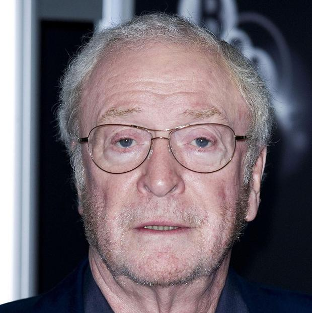Michael Caine has joked about how secretive he has to be