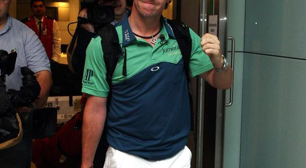 US Open Champion Rory McIlroy has returned after his triumph