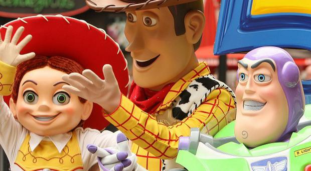 Toy Story characters Jessie, Woody and Buzz Lightyear are back in a new short film