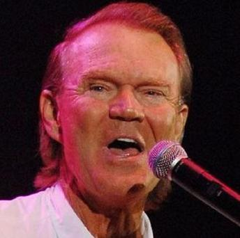 American country singing star Glen Campbell is suffering from Alzheimer's disease