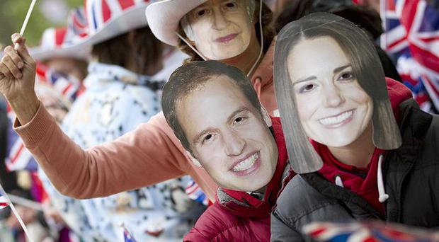 The Best of Britain survey found that 56 per cent of Britons felt more patriotic after the royal wedding of Kate and William