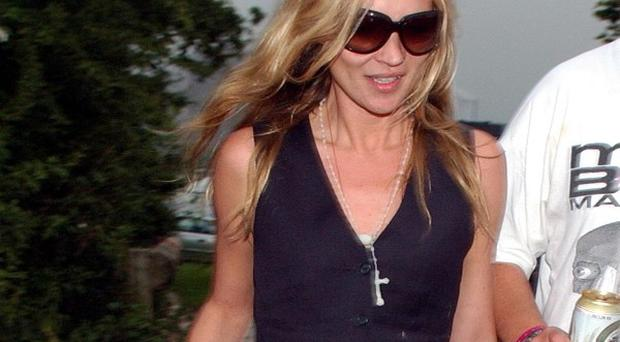 Kate Moss polled a quarter of the votes in the survey