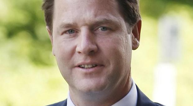Nick Clegg said voters should be given shares in state-owned banks