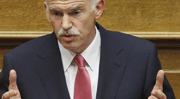 Greek Prime Minister George Papandreou survived a confidence vote (AP)
