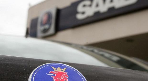 The owner of Saab motors says it does not have enough money to pay employees (AP)