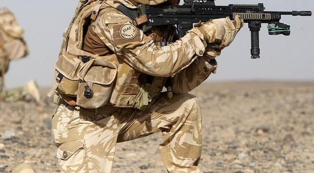 The speed of UK troop withdrawals will be based on conditions on the ground, says David Cameron