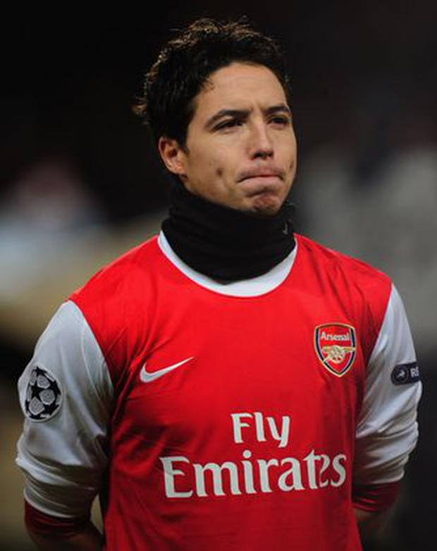 <b>Samir Nasri</b><br/> Arsenal midfielder Nasri has just 12 months to run on his contract making his future at the Emirates uncertain. During the first half of last season the Frenchman was among the top performers in the league and would prove a great addition to any side. Arsenal are obviously keen to hold on to Nasri and the player himself has not ruled out remaining in north London: