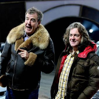 The Top Gear presenters' comments were cut before the show aired in the US