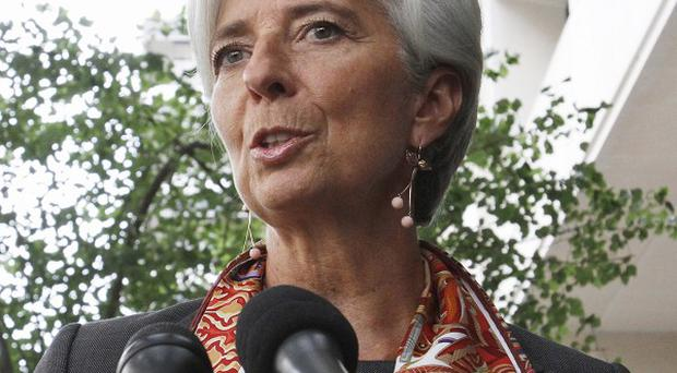 French Finance Minister Christine Lagarde said the IMF should be 'more effective and more legitimate' (AP)
