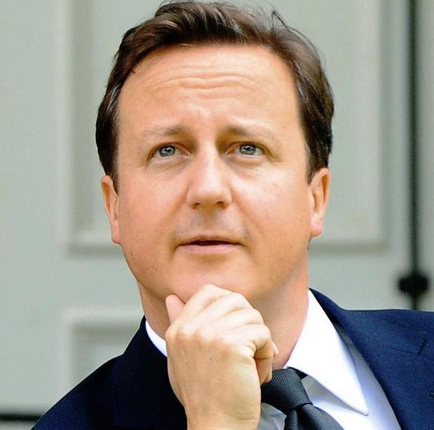 David Cameron said Britain will not be part of a second massive financial bailout for Greece (AP)