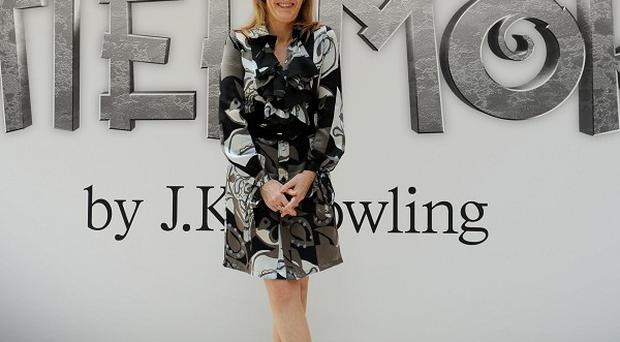 JK Rowling launched the new Pottermore website in London