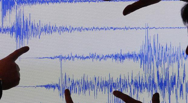 A magnitude-7.2 earthquake has been recorded in the Pacific Ocean off Alaska