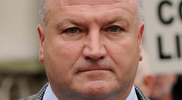 Bob Crow says workers are facing the biggest attack on civil liberties since the miners' strike