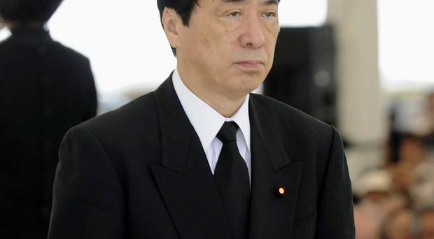 Japanese Prime Minister Naoto Kan has said he is willing to resign