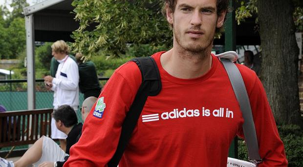 Andy Murray is bidding for a place in the Wimbledon quarter finals
