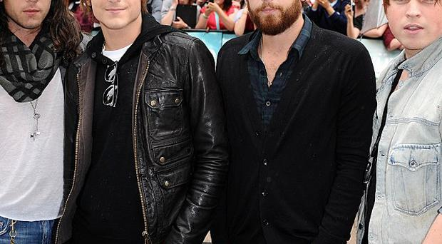 Kings of Leon try not to get nervous about celebrities in the audience