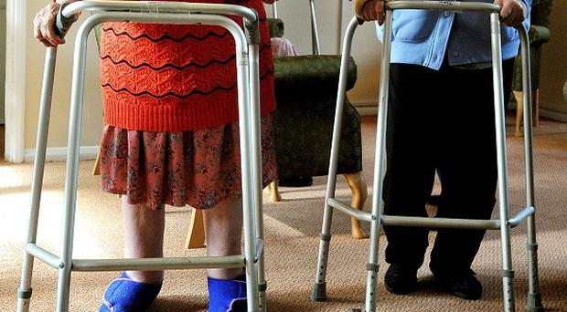 Social care spending for the elderly has been cut by more than 600 million pounds this year, a charity has claimed