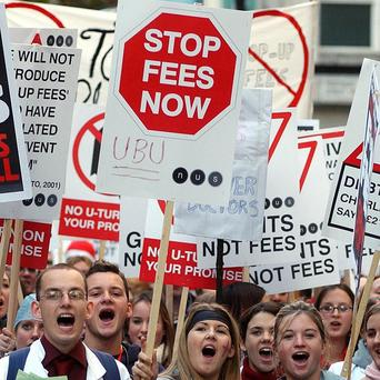Many young people do not understand the tuition fees system, a poll claims