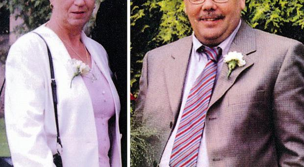 Joan and John Stirland were shot dead at their home in Trusthorpe, Lincolnshire, in August 2004 (Lincolnshire Police/PA)