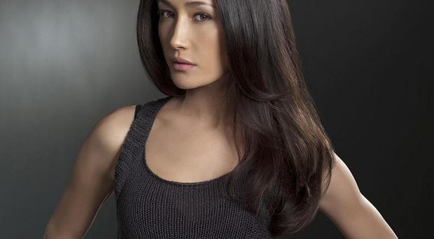 Maggie Q is usually seen in action roles, like in her hit TV show Nikita