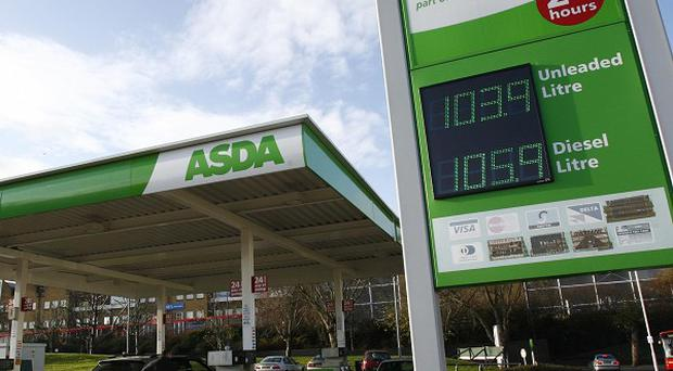 Asda has reduced the cost of its petrol and diesel by a further 2p a litre
