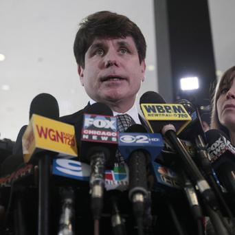 Former Illinois governor Rod Blagojevich has been convicted of 17 charges (AP)