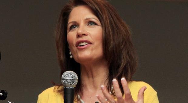 Michelle Bachmann kicked off her presidential campaign in Iowa (AP)