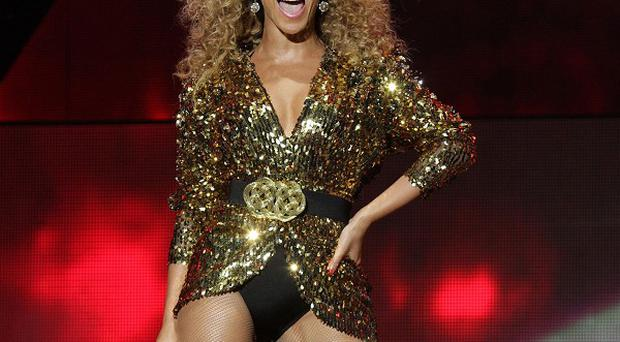 Beyonce performed at the Glastonbury Festival