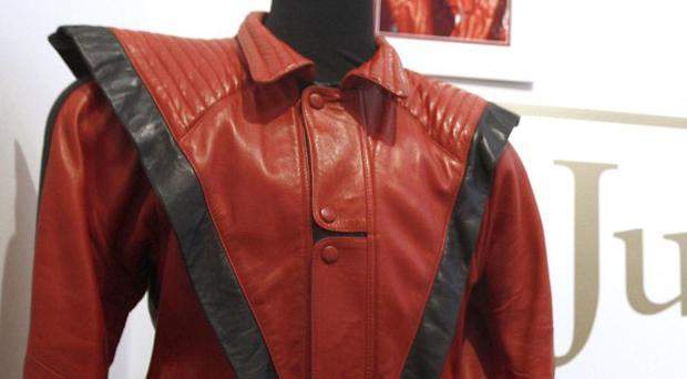 Michael Jackson's famous Thriller jacket has been sold