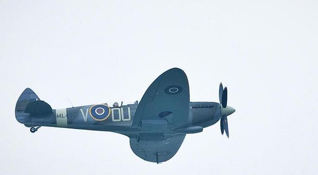 A Second World War RAF Spitfire has been excavated from an Irish peat bog almost 70 years after it crash-landed