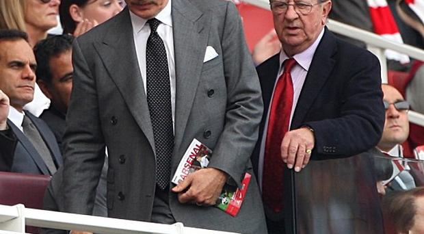 Stan Kroenke (left) and Peter Hill-Wood (right)