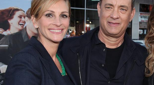 Julia Roberts suffers no fools, according to Tom Hanks