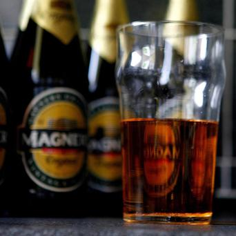 Magners brewer C&C suffered a drop in sales due to the cold weather in May