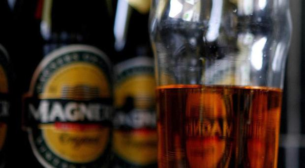 Magners brewer C and C suffered 'relatively weak' sales in June after bumper trading during the spring heatwave