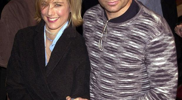 David Duchovny and wife Tea Leoni first met early in their careers
