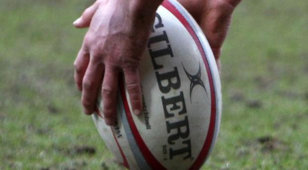 Rugby action