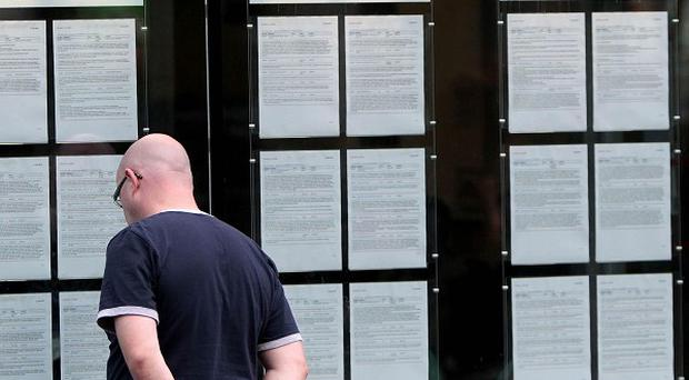 The number of unemployed people went up about 16,000 in May, figures show