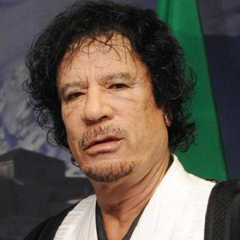Libyan leader Muammar Gaddafi has threatened attacks on Europe