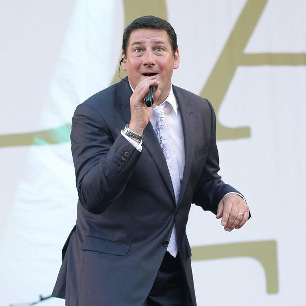 Tony Hadley toured with Spandau Ballet last year