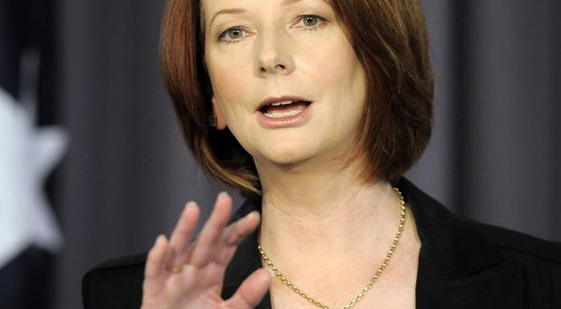Tensions are appearing in prime minister Julia Gillard's Australian government (AP)